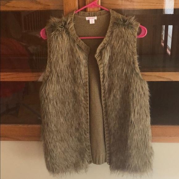 Xhilaration Jackets & Blazers - Fuzzy vest